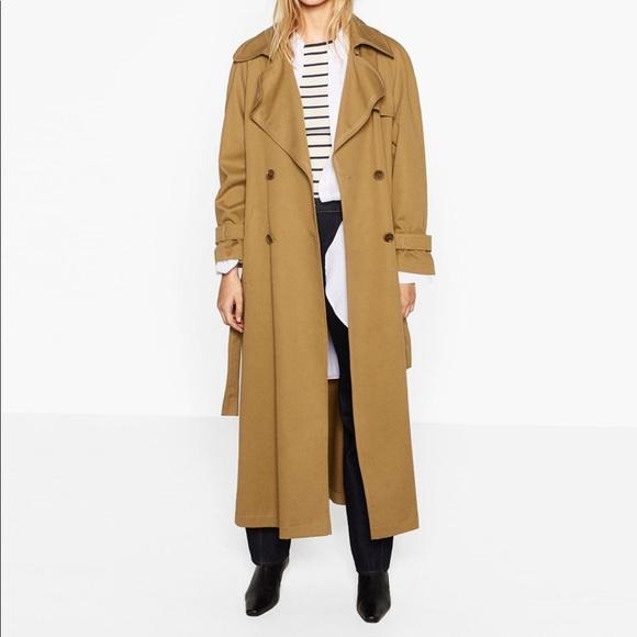 72e9a05c Zara Jackets & Coats | Oversized Trenchcoat | Poshmark